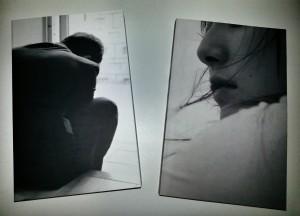 Toyota Horiguchi's black & white cover photos.